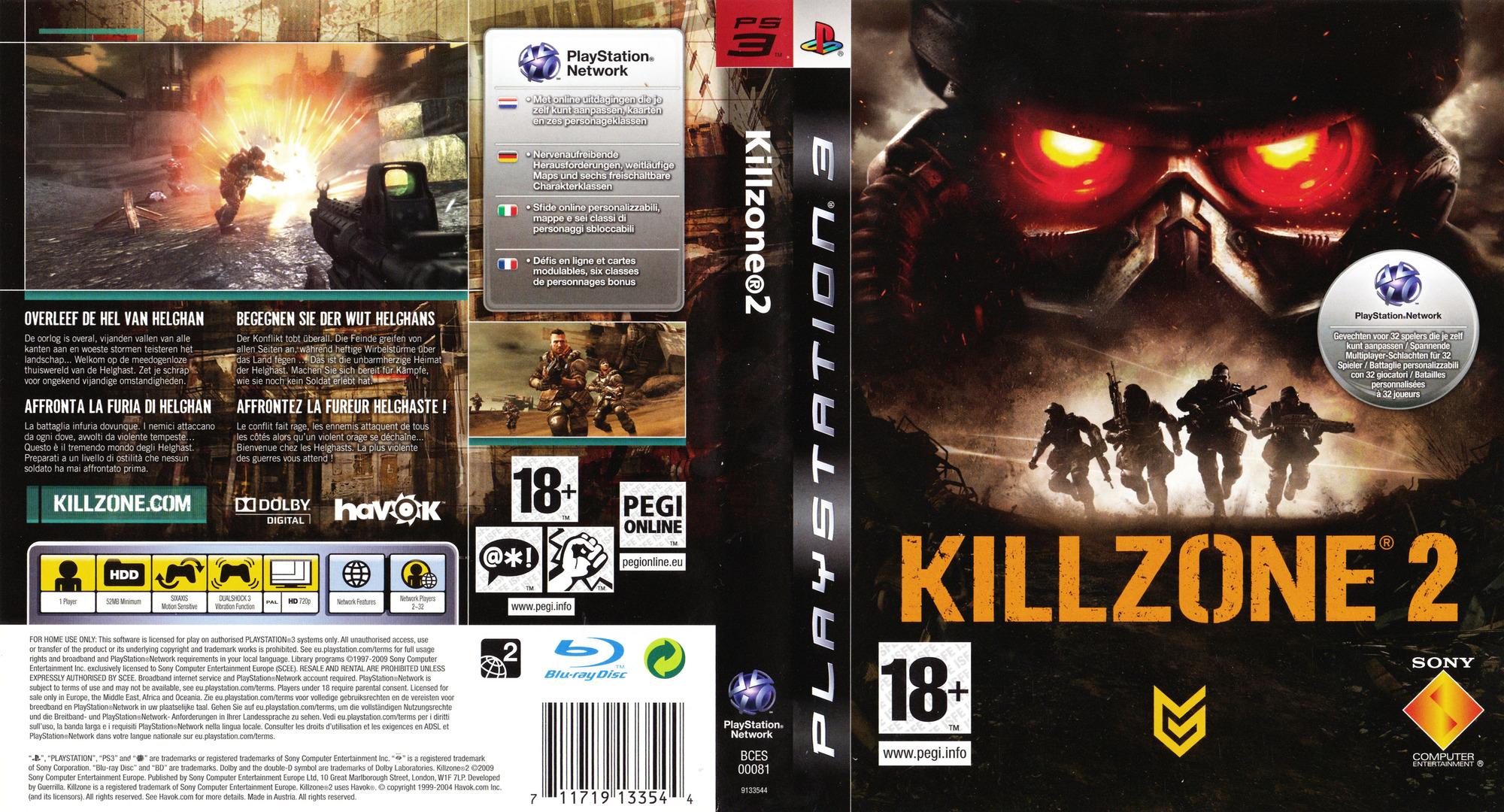 PS3 - Killzone 2 [EU][ALL-DLC][PKG][MEGA]
