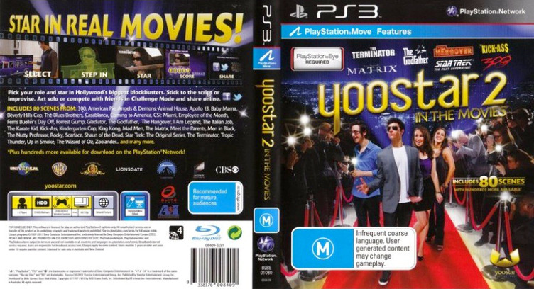 Yoostar 2: In the Movies PS3 coverfullM (BLES01080)