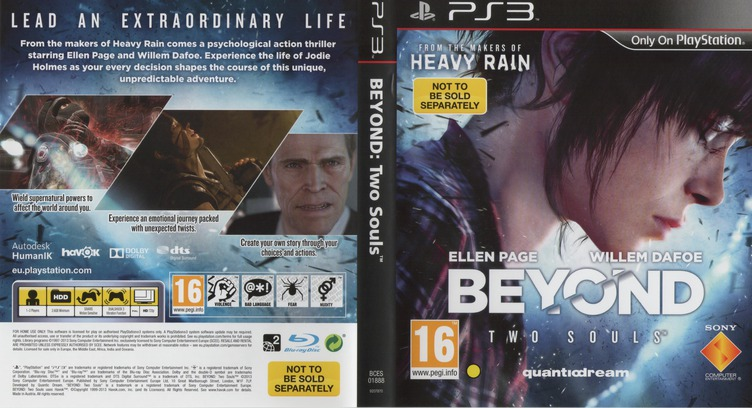 Beyond: Two Souls PS3 coverfullM (BCES01888)