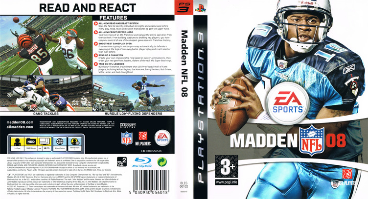 Madden NFL 08 PS3 coverfullM (BLES00102)