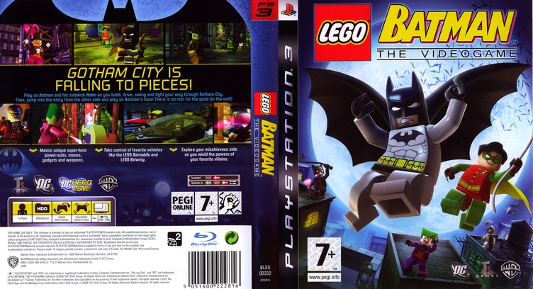 LEGO Batman: The Videogame PS3 coverfullM (BLES00332)