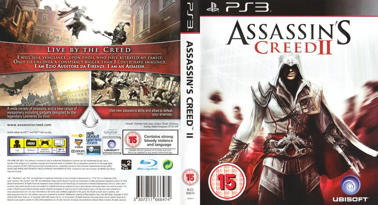 Assassin's Creed II: Complete Edition PS3 coverfullM (BLES00670)