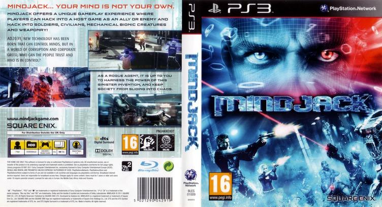 MindJack PS3 coverfullM (BLES01009)