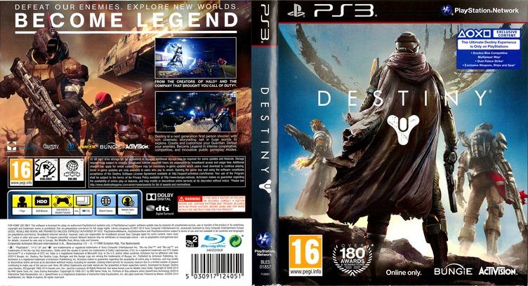 Destiny PS3 coverfullM (BLES01857)