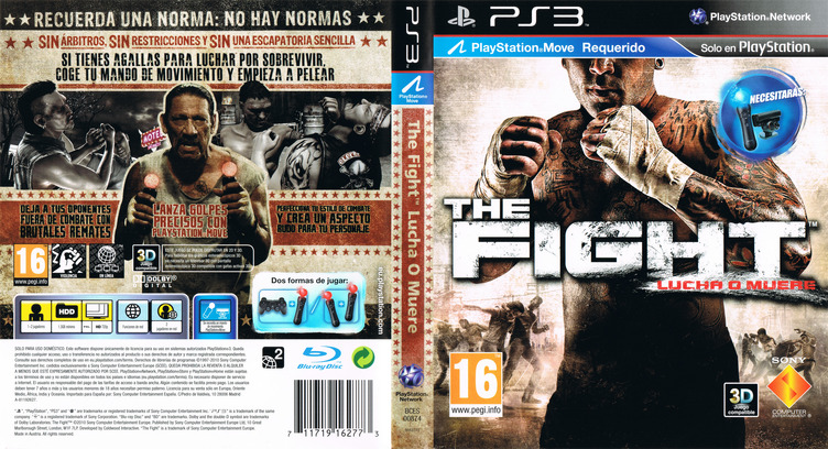 The Fight: Lucha o Muere PS3 coverfullM (BCES00874)
