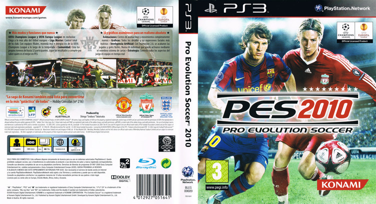Pro Evolution Soccer 2010 PS3 coverfullM (BLES00689)