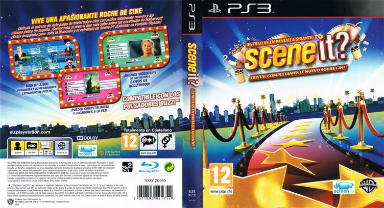 Scene It? ¡Estrellas en Pantalla Gigante! PS3 coverfullM (BLES00733)