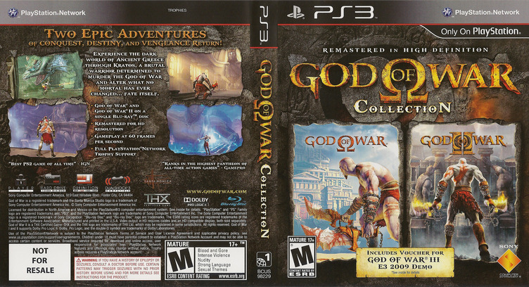 God of War Collection PS3 coverfullM (BCUS98229)