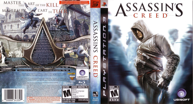 Assassin's Creed PS3 coverfullM (BLUS30089)