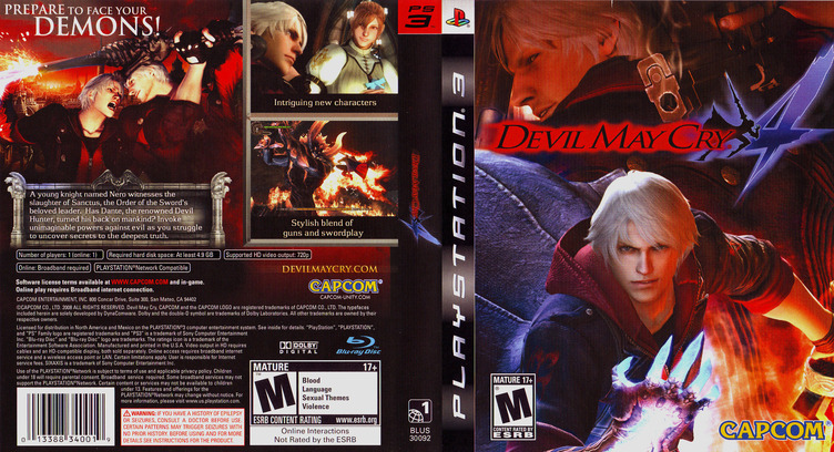 Devil May Cry 4 PS3 coverfullM (BLUS30092)