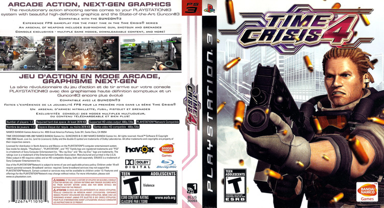 Time Crisis 4 PS3 coverfullM (BLUS30093)