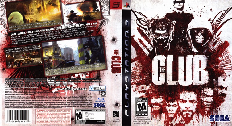 The Club PS3 coverfullM (BLUS30108)