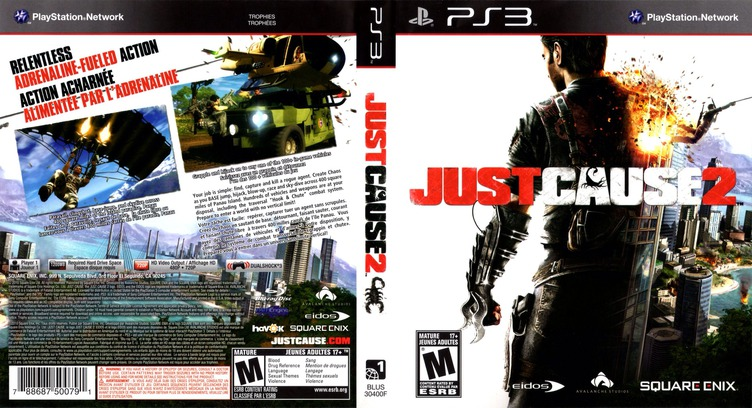 Just Cause 2 PS3 coverfullM (BLUS30400)