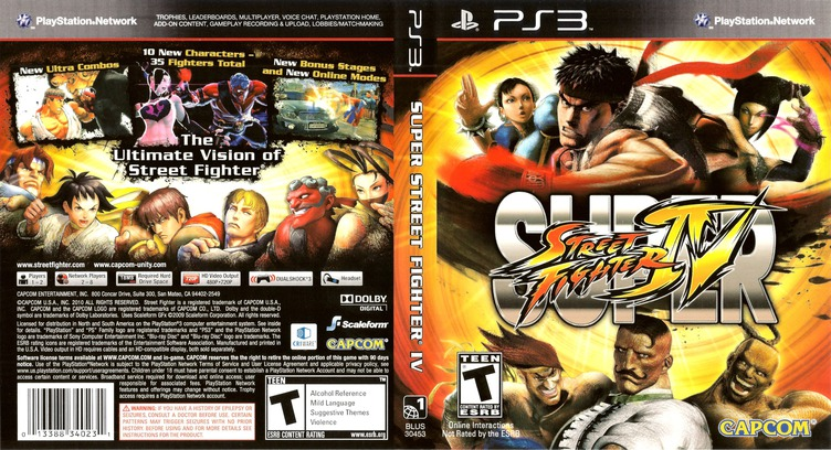 Super Street Fighter IV PS3 coverfullM (BLUS30453)