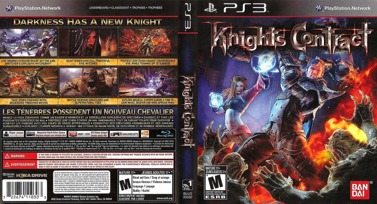 Knights Contract PS3 coverfullM (BLUS30582)