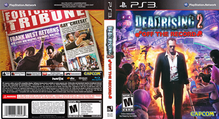 Dead Rising 2:Off the Record PS3 coverfullM (BLUS30763)