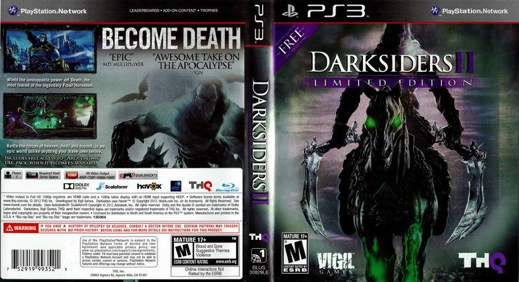 Darksiders II PS3 coverfullM (BLUS30829)