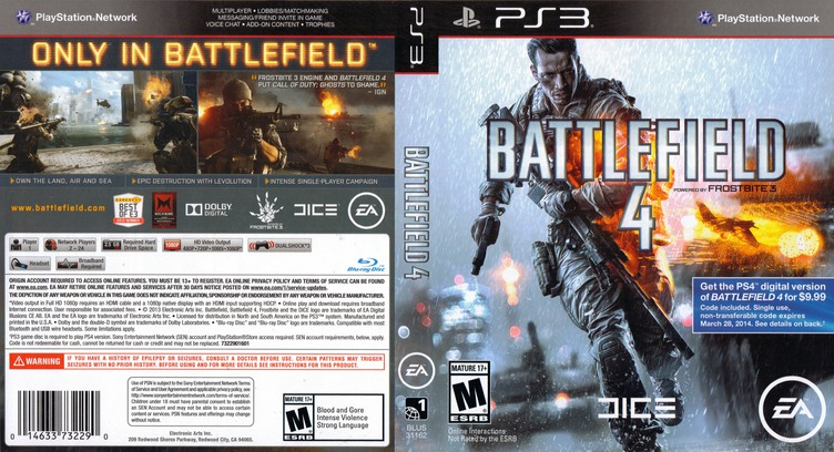 Battlefield 4 PS3 coverfullM (BLUS31162)