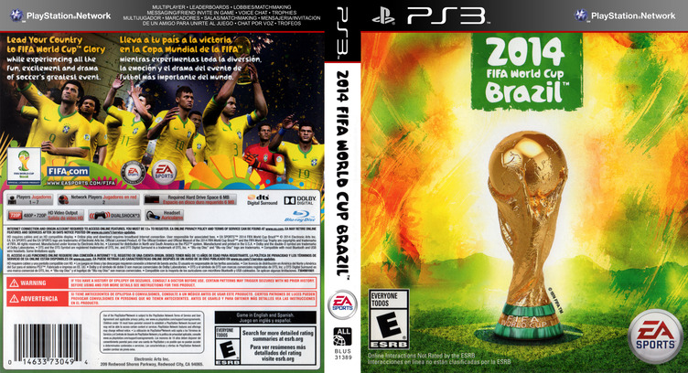 2014 FIFA World Cup Brazil PS3 coverfullM (BLUS31389)
