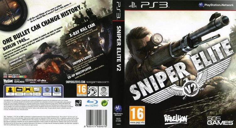 Sniper Elite V2 PS3 coverfullM (BLES01290)