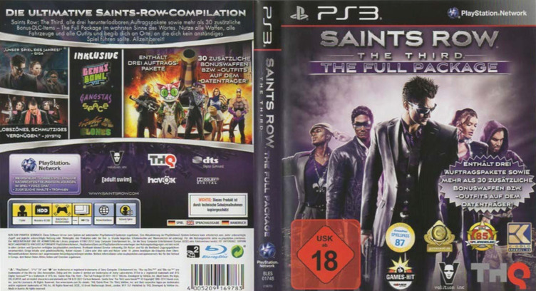 Saints Row : The Third The Full Package PS3 coverfullM2 (BLES01748)