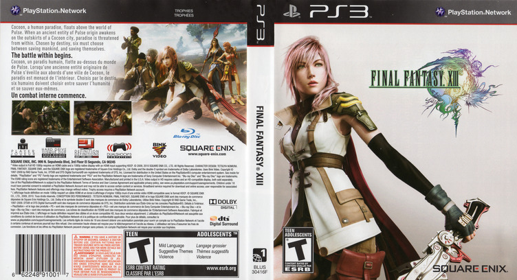 Final Fantasy XIII PS3 coverfullM2 (BLUS30416)