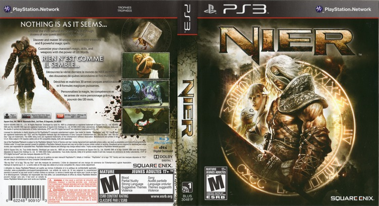 Nier PS3 coverfullM2 (BLUS30481)