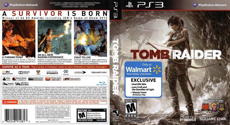Tomb Raider PS3 coverfullM2 (BLUS31036)