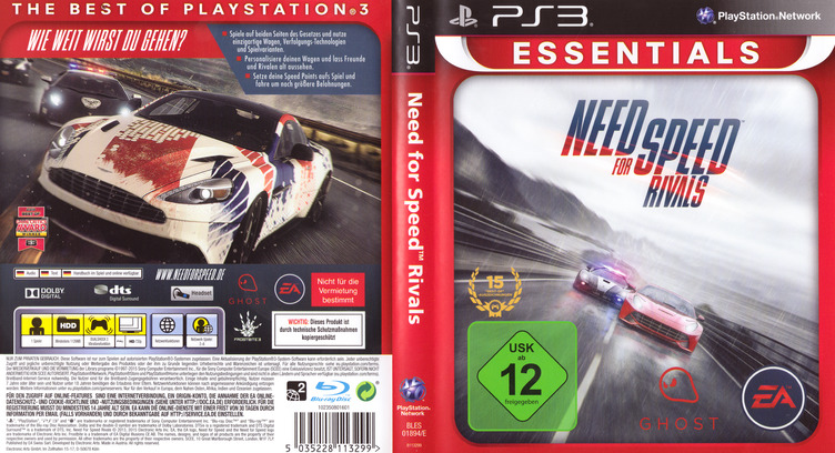 Need for Speed: Rivals PS3 coverfullMB (BLES01894)