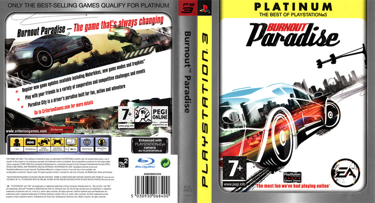 Burnout Paradise PS3 coverfullMB (BLES00073)