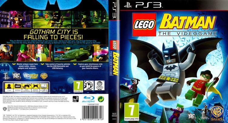 LEGO Batman: The Videogame PS3 coverfullMB (BLES00332)
