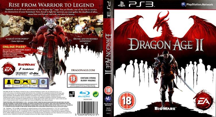 Dragon Age II (Bioware Signature Edition) PS3 coverfullMB (BLES01084)