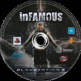 inFamous PS3 disc (BCES00609)
