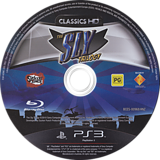 The Sly Trilogy PS3 disc (BCES00968)