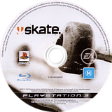 Skate PS3 disc (BLES00124)