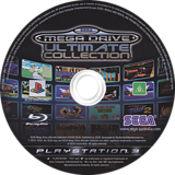 Sega Mega Drive: Ultimate Collection PS3 disc (BLES00475)
