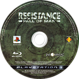 Resistance: Fall of Man PS3 disc (BCES00001)