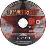 Homefront PS3 disc (BLES00962)