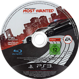 Need for Speed: Most Wanted Limited Edition PS3 disc (BLES01659)