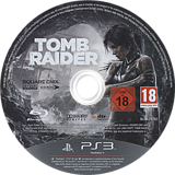 Tomb Raider PS3 disc (BLES01780)