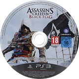 Assassin's Creed IV: Black Flag PS3 disc (BLES01882)