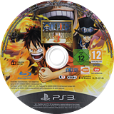 One Piece Pirate Warriors 3 PS3 disc (BLES02140)