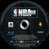 NBA 08 PS3 disc (BCES00112)