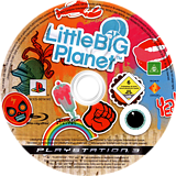 LittleBigPlanet PS3 disc (BCES00141)