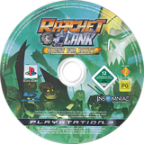 Ratchet & Clank: Quest for Booty PS3 disc (BCES00301)