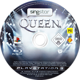 SingStar: Queen PS3 disc (BCES00494)
