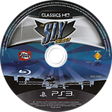 The Sly Trilogy PS3 disc (BCES00982)