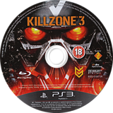 Killzone 3 PS3 disc (BCES01007)