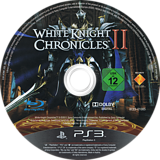 White Knight Chronicles II PS3 disc (BCES01085)