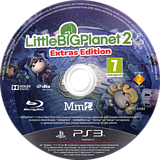 LittleBigPlanet 2 (Extras Edition) PS3 disc (BCES01694)